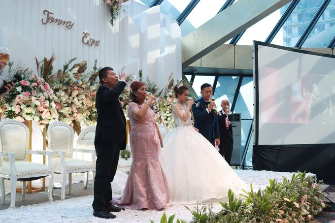 New Normal Wedding Entertainment At JHL Solitaire Serpong - Double V Entertainment by Double V Entertainment - 009