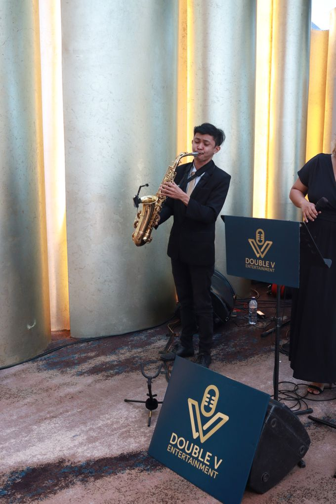 New Normal Wedding Entertainment At JHL Solitaire Serpong - Double V Entertainment by Double V Entertainment - 010