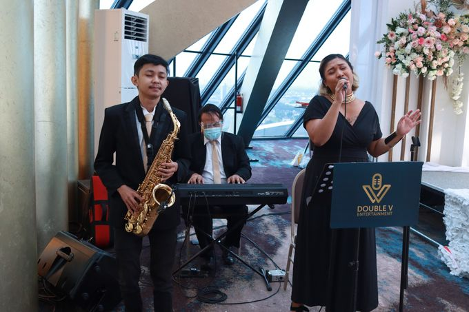 New Normal Wedding Entertainment At JHL Solitaire Serpong - Double V Entertainment by Double V Entertainment - 011