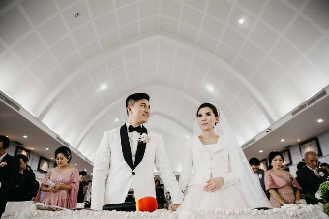 The Wedding of Michael Alinskie & Sherly Fausta by TurquoiSe Organizer - 017