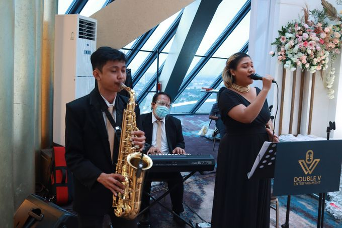 New Normal Wedding Entertainment At JHL Solitaire Serpong - Double V Entertainment by Double V Entertainment - 014