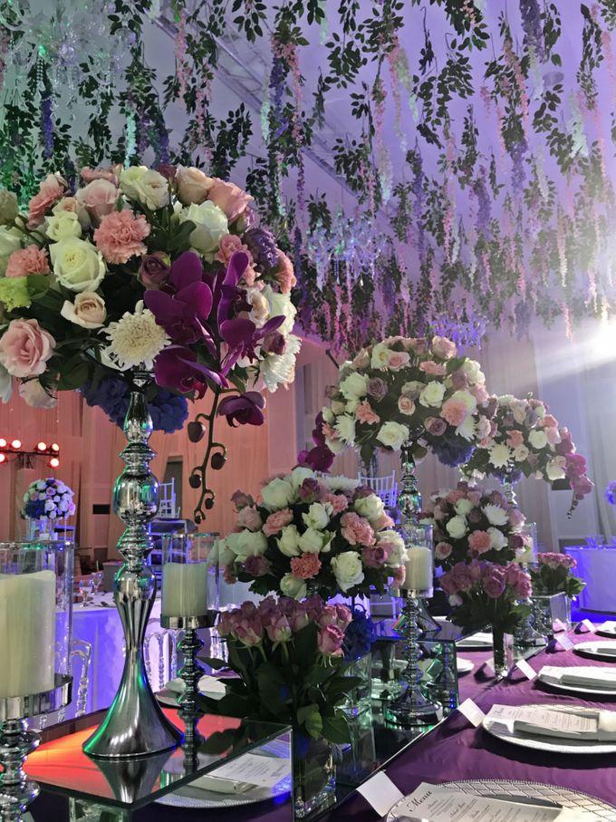 Reception Styling by Natural Art Flowers and Decors - 028