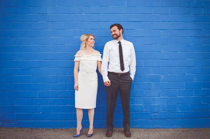 Bold Mod Elopement by Amber Elaine Photography - 004