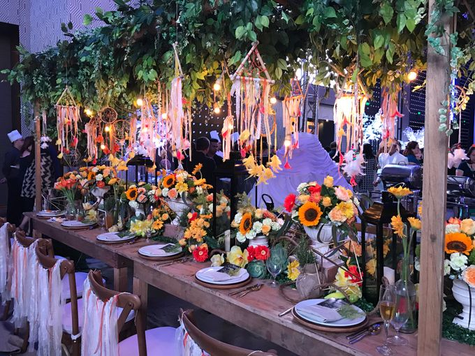 Reception Styling by Natural Art Flowers and Decors - 029