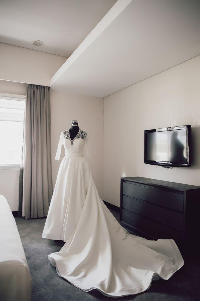 Hendra & Stephanie's Wedding by Cloche Atelier - 002