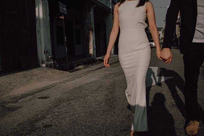 Casual prewedding shoot in Penang by Amelia Soo photography - 003
