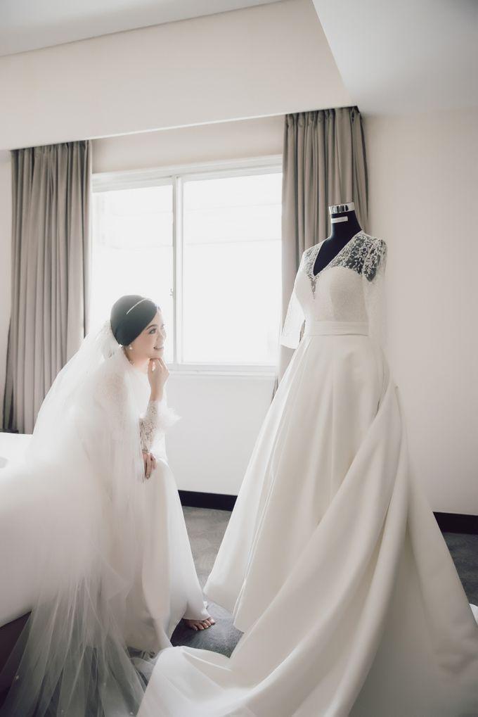 Hendra & Stephanie's Wedding by Cloche Atelier - 003