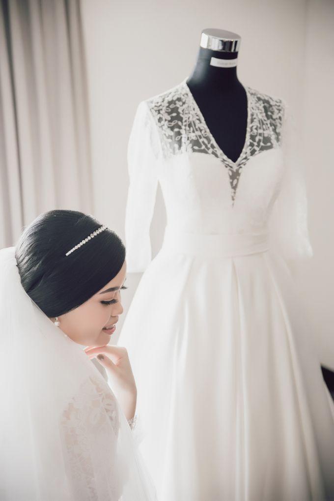 Hendra & Stephanie's Wedding by Cloche Atelier - 001