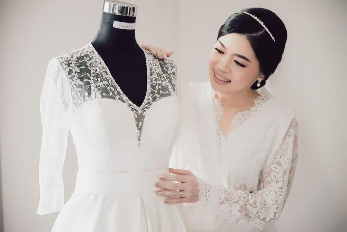 Hendra & Stephanie's Wedding by Cloche Atelier - 004