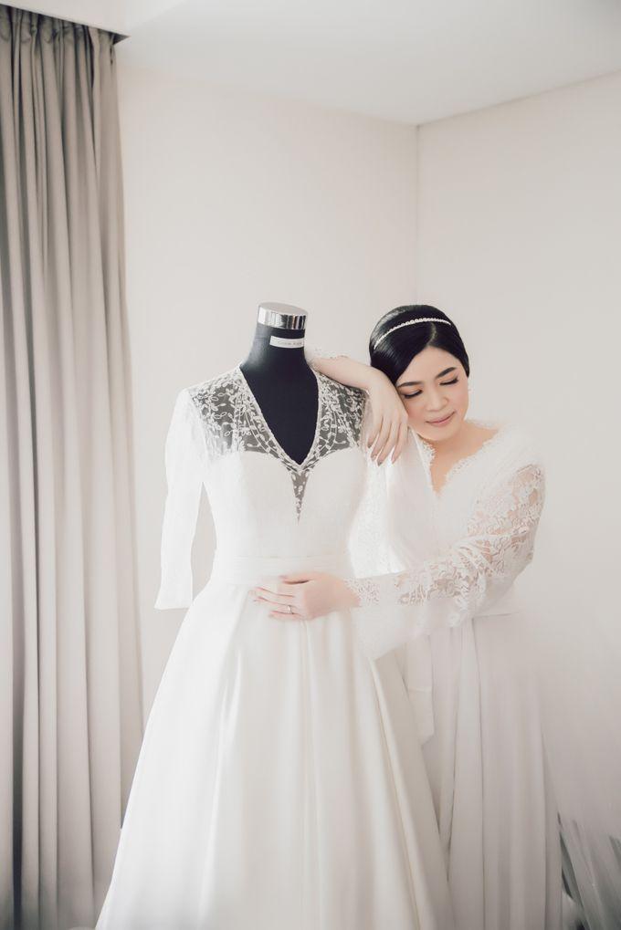 Hendra & Stephanie's Wedding by Cloche Atelier - 005