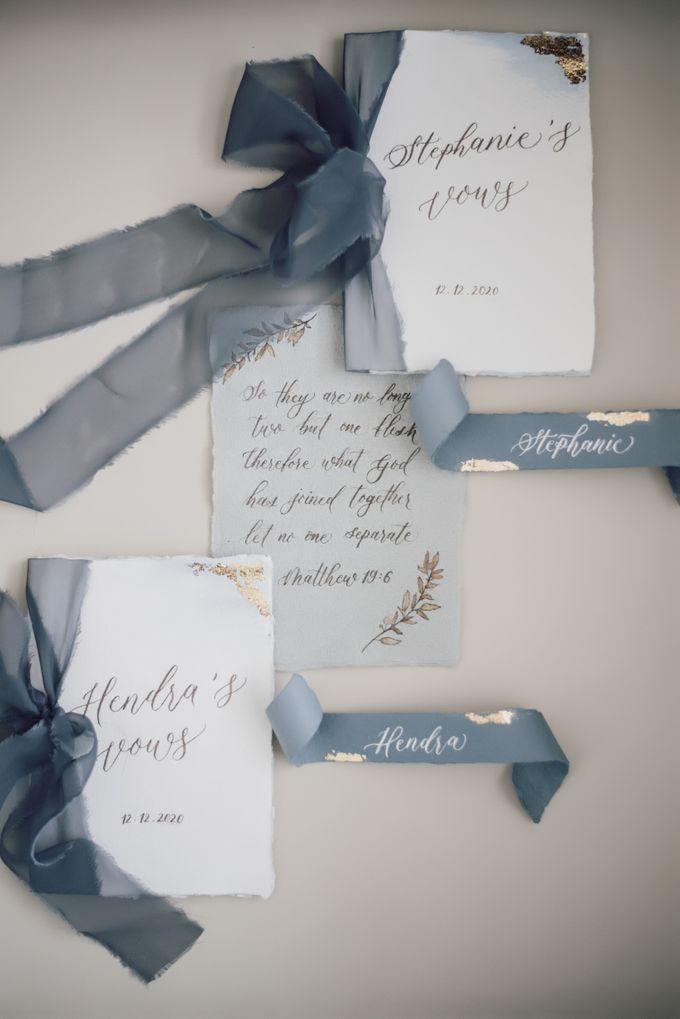 Hendra & Stephanie's Wedding by Cloche Atelier - 006