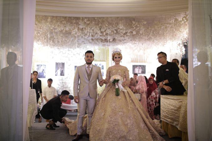 Wedding Of Azmi & Rabi'ah by The Great Larasati - 034