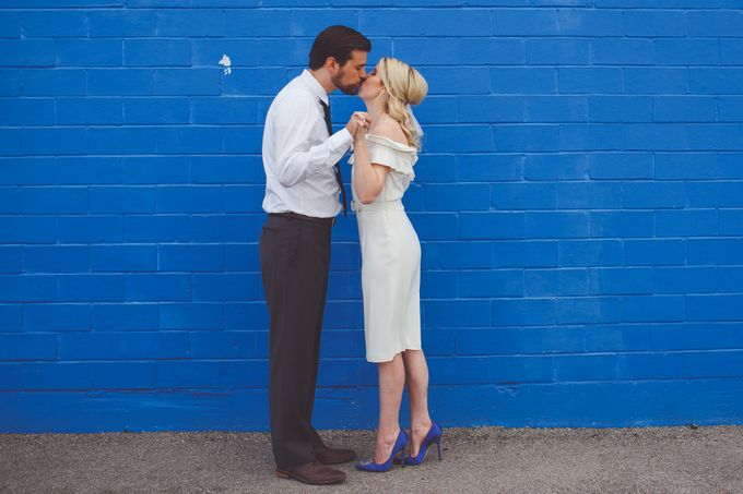 Bold Mod Elopement by Amber Elaine Photography - 006