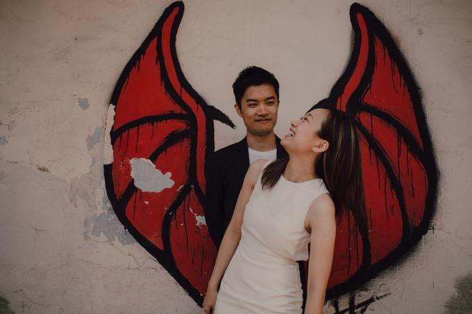 Casual prewedding shoot in Penang by Amelia Soo photography - 007