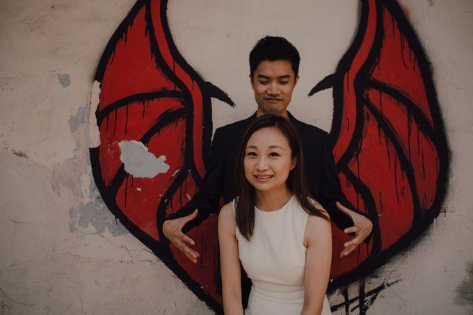 Casual prewedding shoot in Penang by Amelia Soo photography - 006