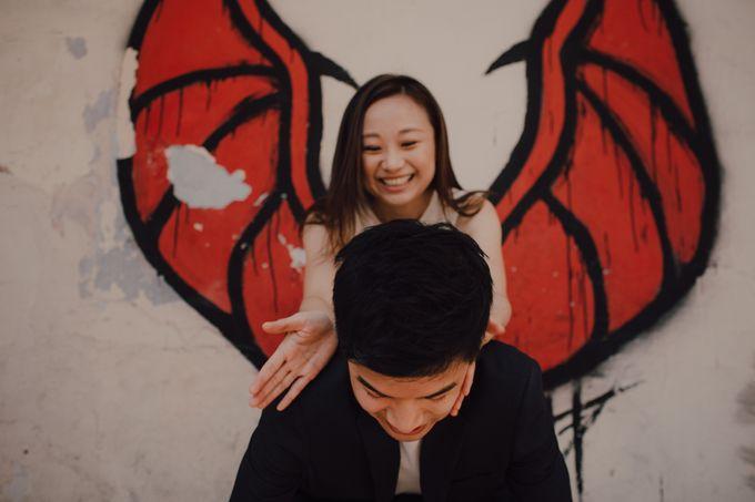 Casual prewedding shoot in Penang by Amelia Soo photography - 008