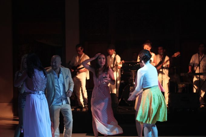 Wedding Event at The Unggasan Clifftop Bali by Traffic Blues Band - 003