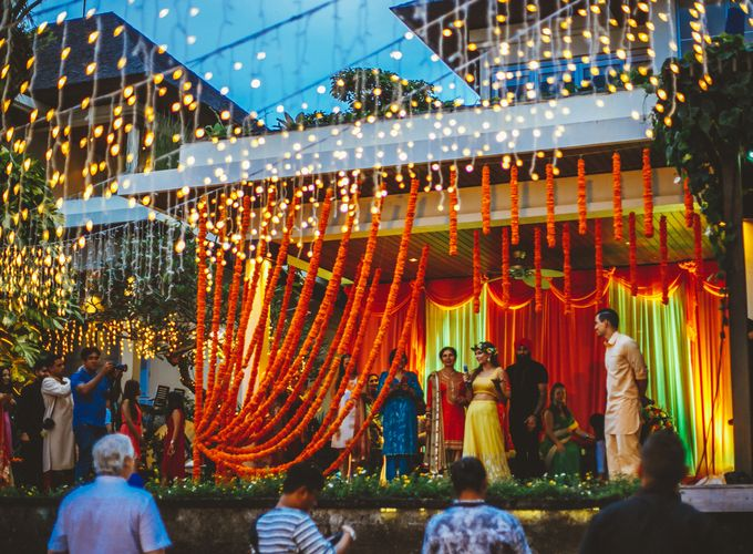 The Wedding of Jared & Gagan (Mehndi Ceremony) by Bali Yes Florist - 002