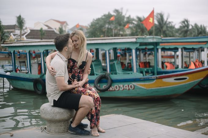 Pre wedding Kayla and peter in Hoi An Vietnam by Ruxat Photography - 004