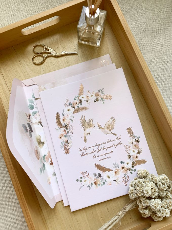 Love Birds by Trouvaille Invitation - 001