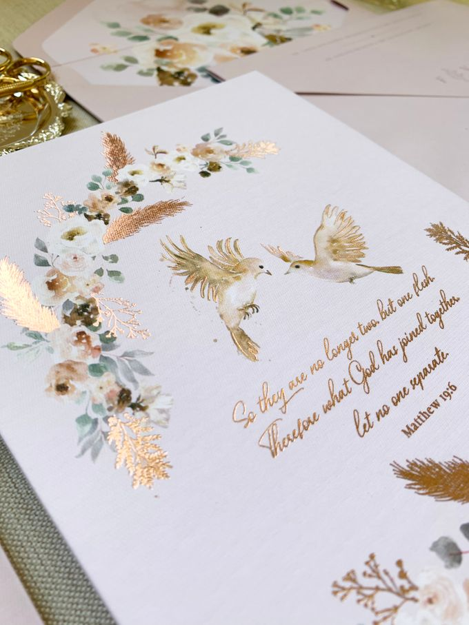 Love Birds by Trouvaille Invitation - 003