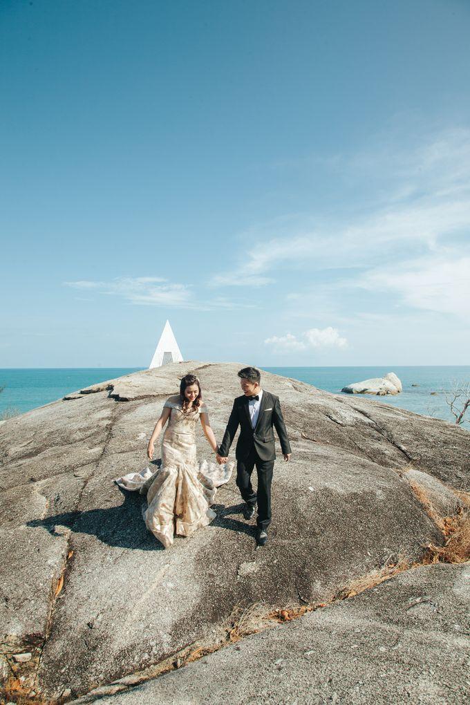 Belitung Prewedding of Ferderiko & Nathalia by GoFotoVideo - 011