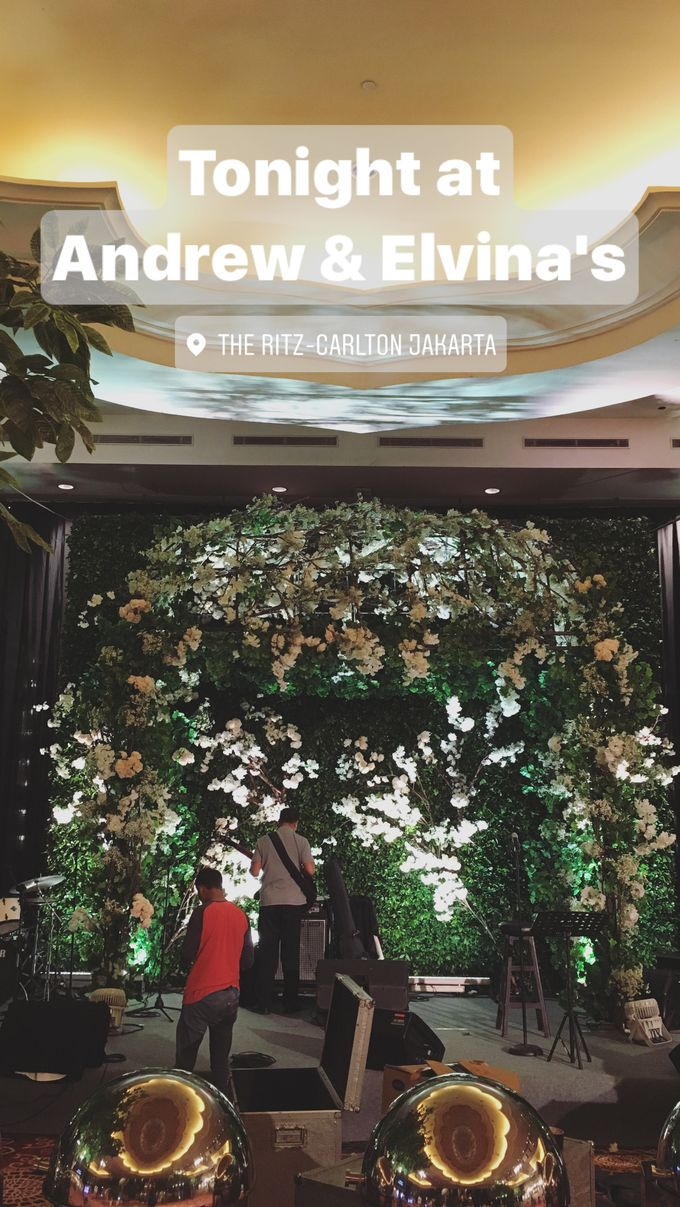 The Wedding of Andrew & Elvina by Stupa Caspea Event Decoration - 001