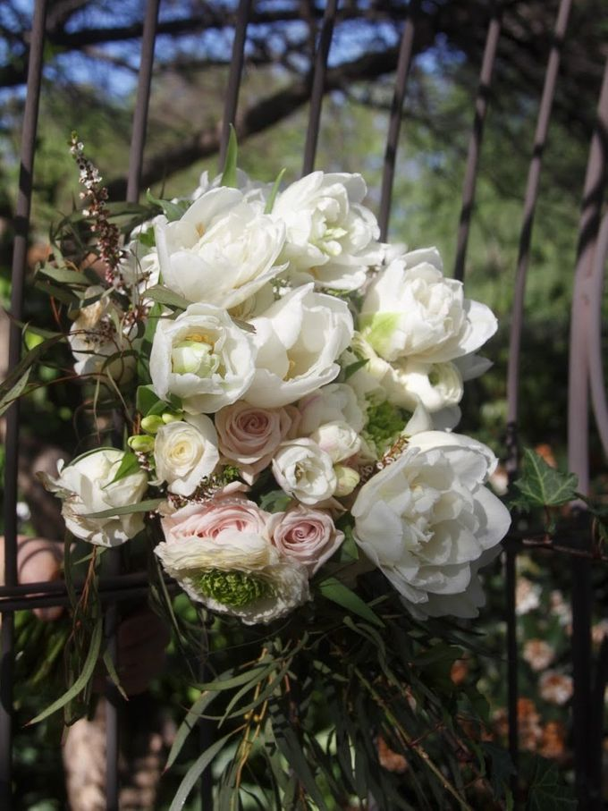 Blushing Bridal Bouquet by Flourish by Charlene - 002