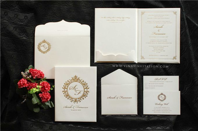 Sarah & Fransesco by Vinas Invitation - 003