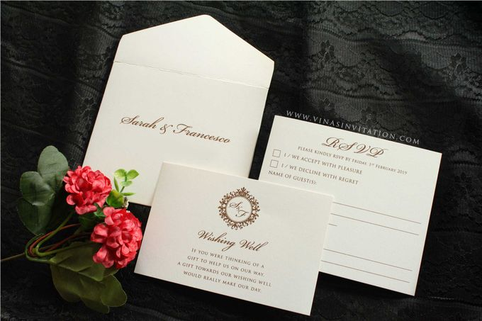 Sarah & Fransesco by Vinas Invitation - 005