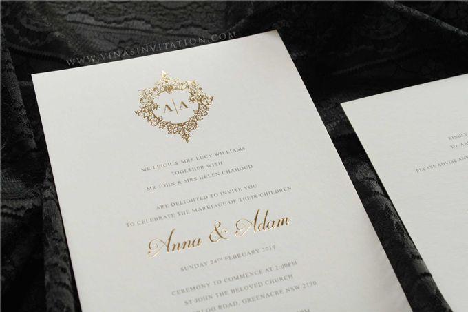 Anna & Adam by Vinas Invitation - 002