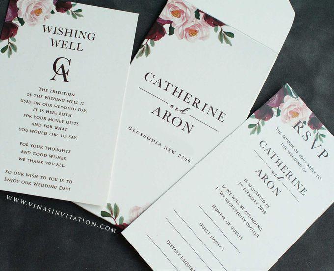 Catherine & Aron by Vinas Invitation - 004