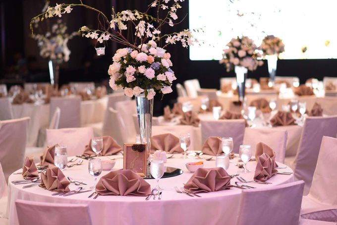 Reception Styling by Natural Art Flowers and Decors - 004