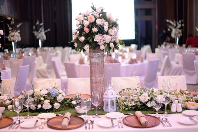 Reception Styling by Natural Art Flowers and Decors - 018