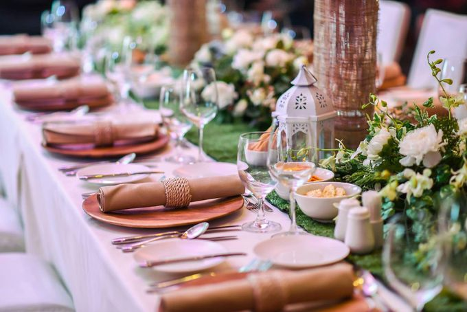 Reception Styling by Natural Art Flowers and Decors - 019