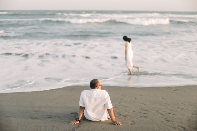 Us, Love and Sunset Story  Pre Wedding by Kimus Pict - 001