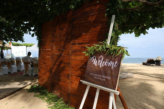 Ina & Renato Wedding by Holiday Inn Resort Bali Benoa - 003