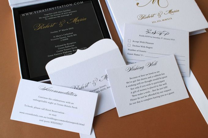 Robert & Maria by Vinas Invitation - 005