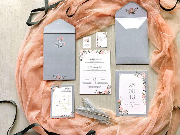Albert & Theresia by Petite Chérie Invitation - 004