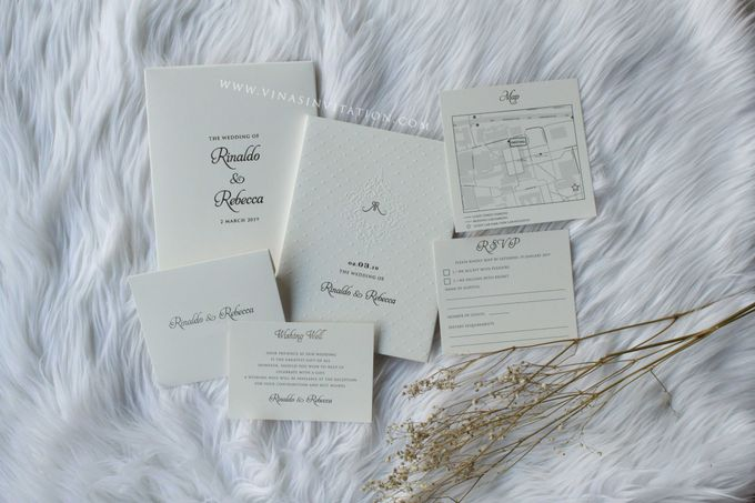 Rinaldo & Rebecca by Vinas Invitation - 002