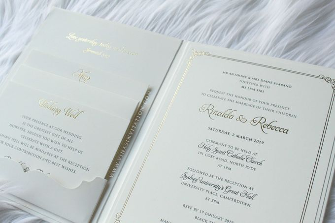 Rinaldo & Rebecca by Vinas Invitation - 004