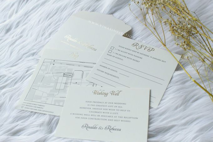 Rinaldo & Rebecca by Vinas Invitation - 005