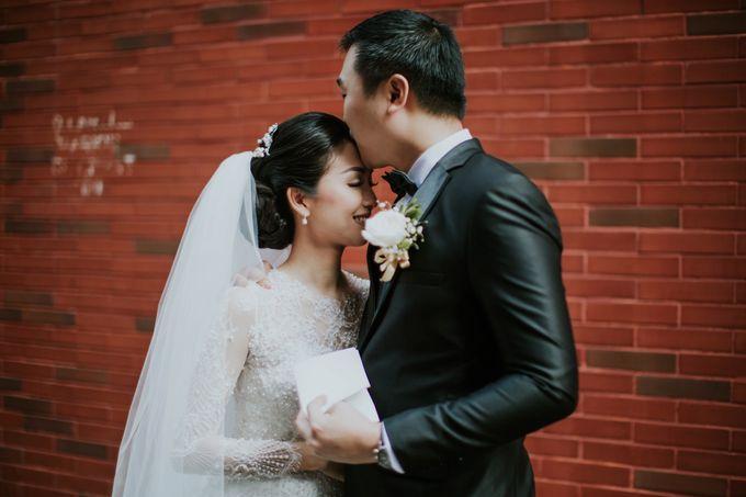 Wedding of Ferdie & Intany by Michelle Alphonsa - 012