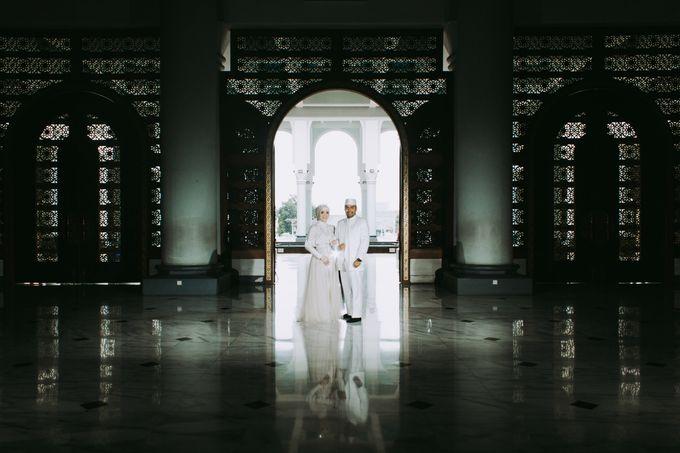 The Wedding of Ikhsan and Laily by LAKSMI - Kebaya Muslimah & Islamic Bride - 005