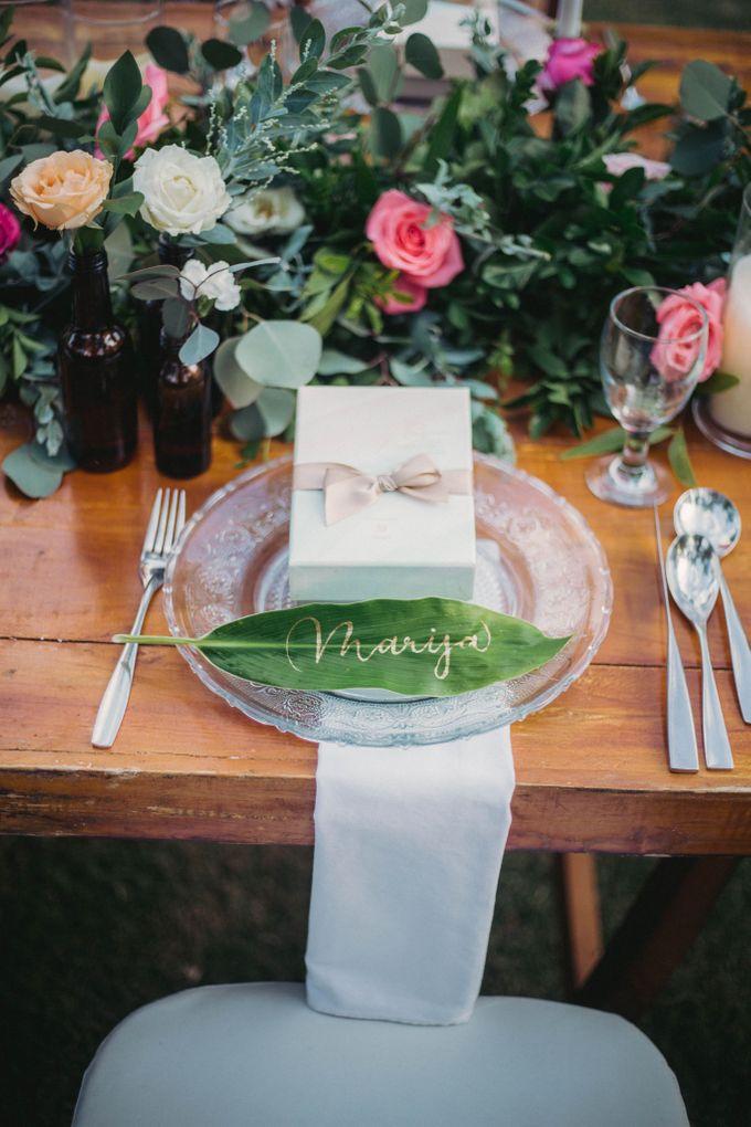 Sweet Rustic Wedding at New Kuta Golf & Villa Bayu Bali by Silverdust Decoration - 006