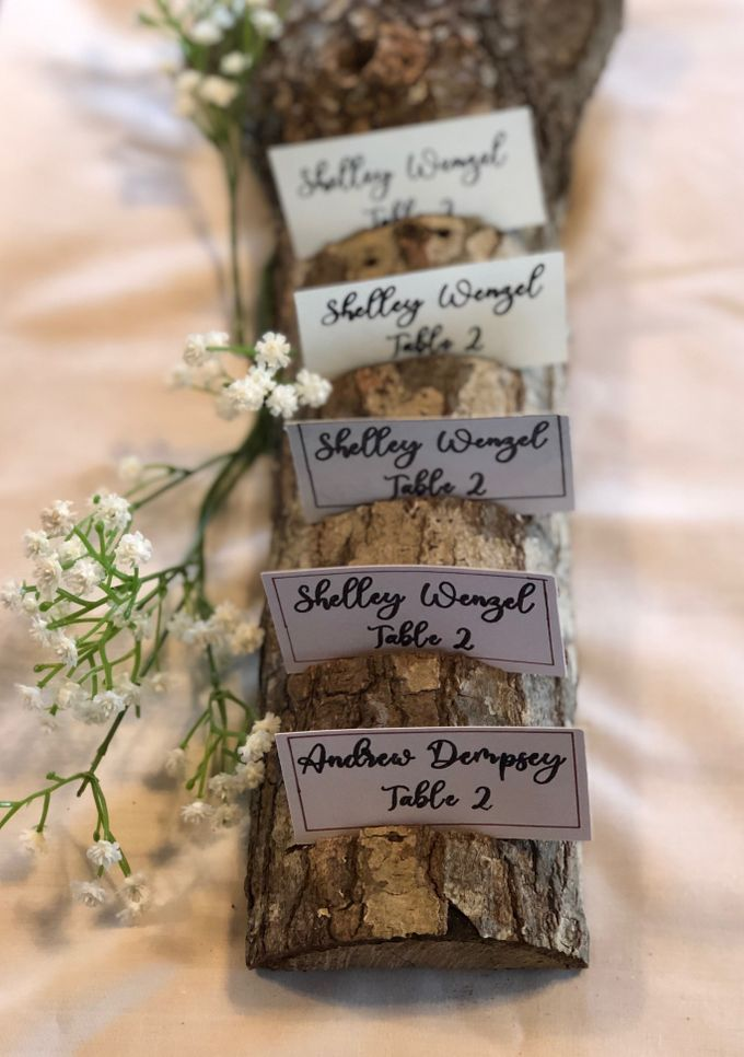 Wedding Place Cards by paper & string - 008