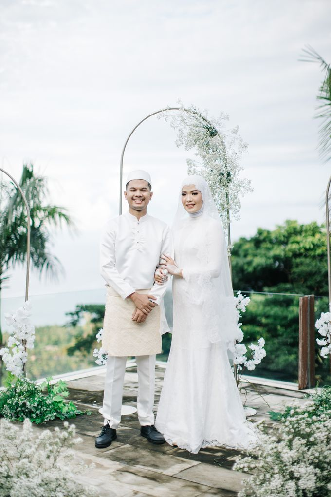 The Wedding of Novi and Rion by Kate Bridal and Couture - 008
