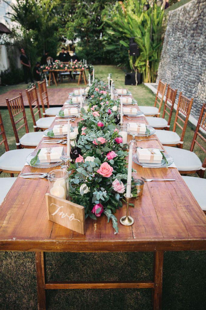Sweet Rustic Wedding at New Kuta Golf & Villa Bayu Bali by Silverdust Decoration - 011