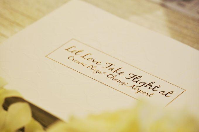Crowne Plaza Wedding Brochure by mylin design & co. - 001
