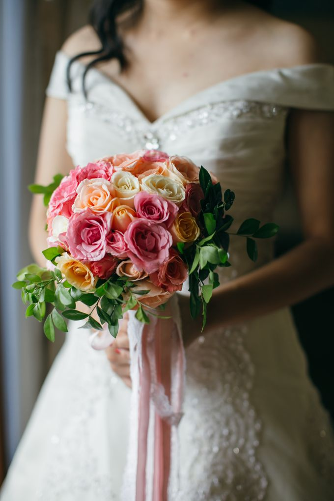 WEDDING OF LISAWATY AND SUGIANTO by Courtyard by Marriott Bali Nusa Dua - 009